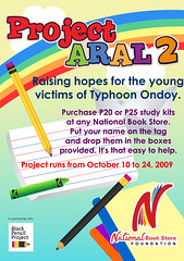 Project Aral 2 by NBS and BPP (manilamommy) Tags: blackpencil blackpencilproject nationalbookstorefoundation projectaral manilamommy