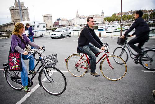 La Rochelle Cycle Chic: Homme et Femme