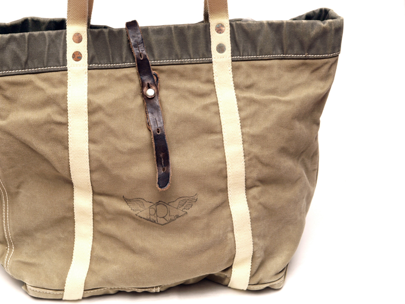RRL / Canvas Military Tote Bag
