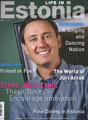 Life in Estonia Cover (jurvetson) Tags: life playing magazine estonia singing dancing sweet cover gmofreeworld