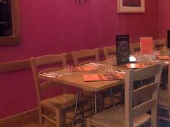 Interior of Pancho Villa's Mexican restaurant, Edinburgh