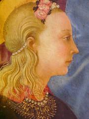 Matre de la nativit del Castello (lisabelle3) Tags: museum del de la louvre or castello renaissance matre tempera nativit goldhalo madonnareligiousart