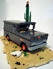 """The tune haunted me as long as I could remember"" (Lino M) Tags: cactus storm southwest clouds truck skull buffalo apache desert panel lego native gray tan chevy american vulture rattlesnake thunder lino 60 lugnuts 1960 theshadows rattler diamondback"