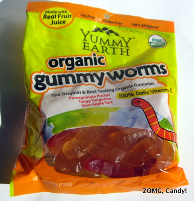 Yummy Earth Organic Gummy Worms