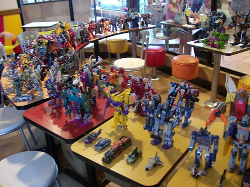 Exhibición de Transformers en McDonalds Heredia, Costa Rica - 25-Oct-2009