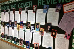 UNDER the COVER on display (Skokie Public Library) Tags: teens about mccracken tweens bookreviews skokiepubliclibrary underthecover yshighlights hc2k9