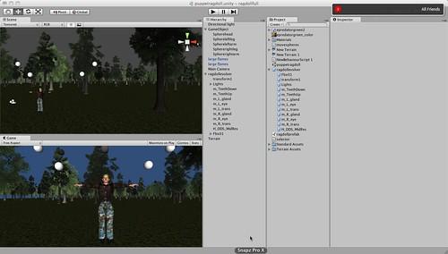 Unity3d puppet