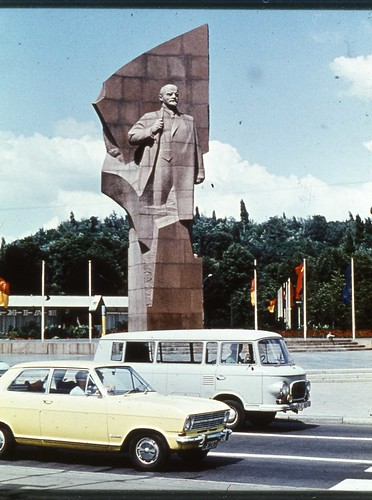 East Berlin 1980 - Lenin Monument
