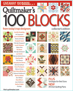 Quiltmaker's 100 Blocks - Alt cover