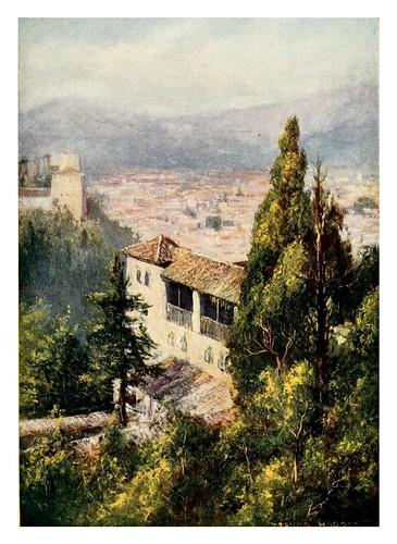 041-Granada-desde el Generalife-Southern Spain 1908- Trevor Haddon