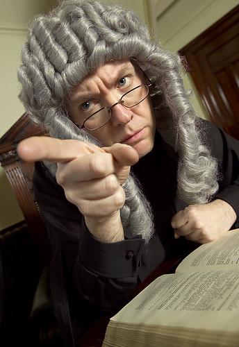 Facing the Judge