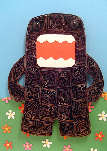 Paper Quilling Domo