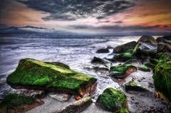 Moss (Alfredo11) Tags: sea sky seascape musgo beach water clouds mar moss agua nikon rocks playa paisaje cielo nubes rocas 5exp ptovallarta nikond300