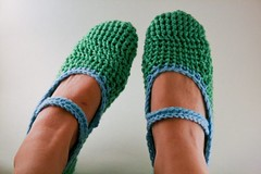 (SykoSam) Tags: needlecraft crochetslippers ravelry