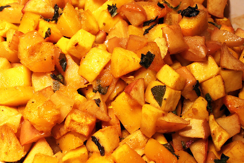 curried butternut squash and apples