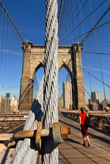 Nut & Bold (wwwYnand!) Tags: new york city nyc bridge blue light sky sun sunlight ny newyork brooklyn america photography us nikon fotografie april d200 van nikkor 2009 poortvliet wynand 1424 wynandvanpoortvlietnl wynandvanpoortvliet 1424mm 1424mmf28gedafsnikkor wvanpoortvliet wwwwvanpoortvlietnl