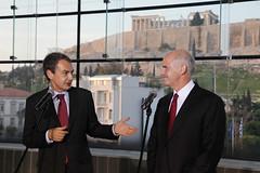 Συνάντηση με τον Πρωθυπουργό της Ισπανίας, Jose Luis Zapatero