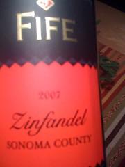 2007 Fife Sonoma County Zinfandel