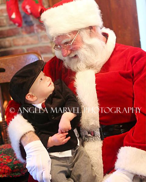 Brett with Santa
