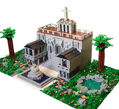 The Temple for Worshipping the Lego Gods.