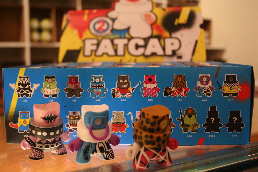 KidRobot's Fatcaps