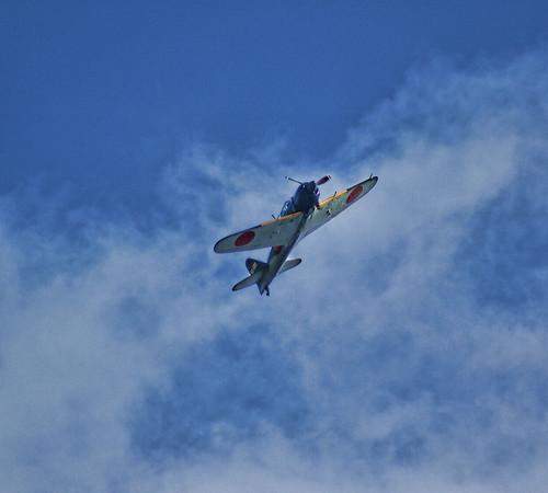 フリー写真素材|乗り物|航空機|戦闘機|ゼロ戦・零式艦上戦闘機|