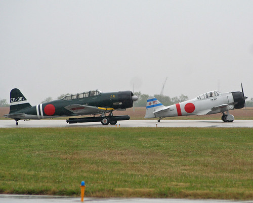 "Warbird picture - Mitsubishi A6M Zero, Nakajima B5N ""Kate"""