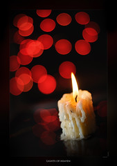 Lights of heaven (Ghetu Daniel) Tags: christmas candle nikkor5014 nikond300 lightsofheaven
