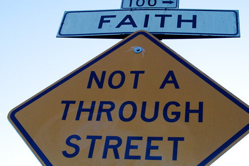 Faith, Not a Through Street