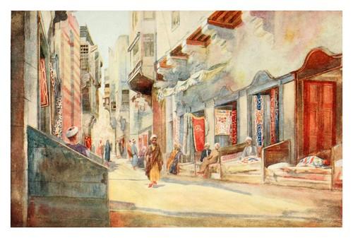 020-El Bazar de los Diez Fabricantes en el Cairo-Cairo, Jerusalem, and Damascus..1907- Margoliouth D. S.