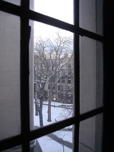 University of Chicago Quad in Winter