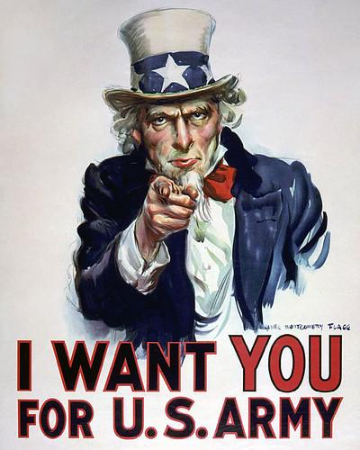 world war one - Uncle Sam