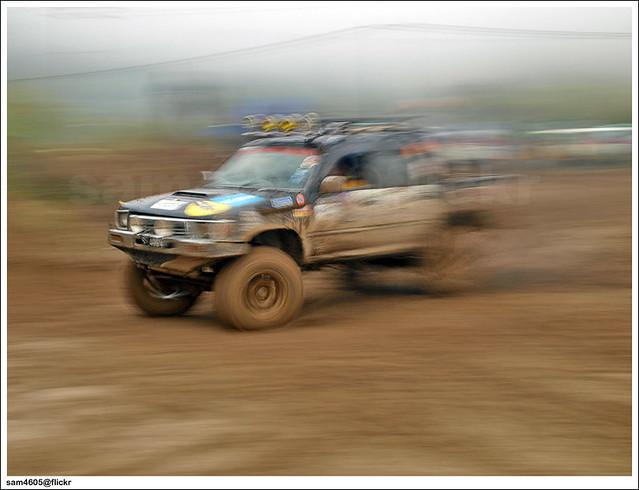 Kundasang 4x4 Novice Challenge - Toyota Hilux Extreme panning
