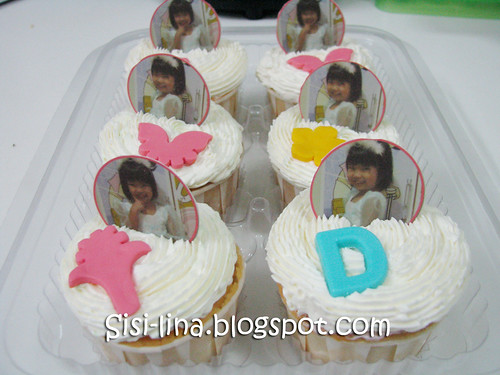 cupcake white with edible