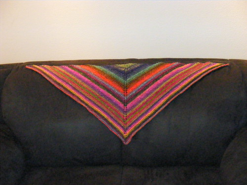 Simple yet effective shawl by you.