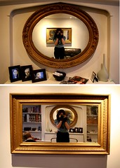 my living room (tamsin rose) Tags: old family portrait house selfportrait reflection home me landscape person gold mirror living frames photos brother room id picture mirrors crop capture pictureframes tamsincallan