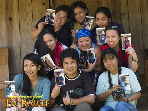 Backpack Photography Banaue 101 Participants