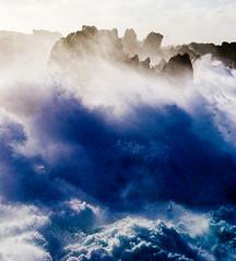 [フリー画像] 自然・風景, 海, 波, 201105171900