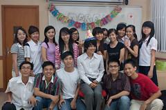 Happy Birthday to me (Day 39/40) (derekmiyamoto) Tags: birthday classroom vietnam happybirthday hcmc strobist 450d canonxsi