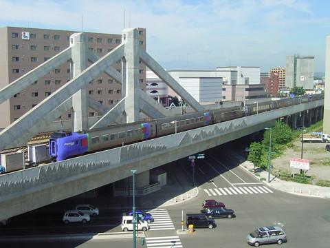 帯広駅付近