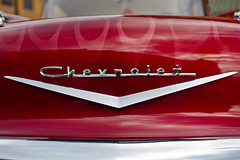 Muscle Cars (espressoDOM) Tags: red chevrolet car emblem logo burgundy flames chevy carshow musclecar isawthis