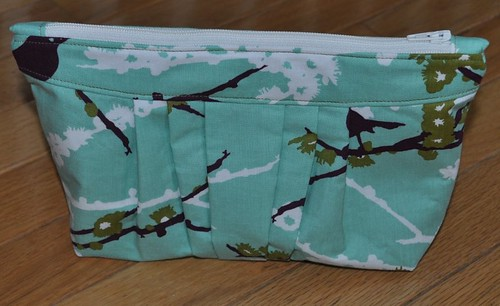 zip pouch made by Caitlyn