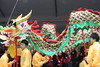 The Chinatown Parade.. The Dragon Warrior Looks Tired :) (Jubba on Jeans) Tags: chinesenewyear parade chintown