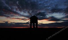 Sunset (26/52) (JRT ) Tags: roof sunset red wallpaper sky building windmill silhouette clouds nikon sails chesterton lead warwickshire chestertonwindmill d300s doublyniceshot johnwarwood flickrjrt