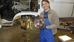 19. Februar 2017: Ausbau Bremse vorne