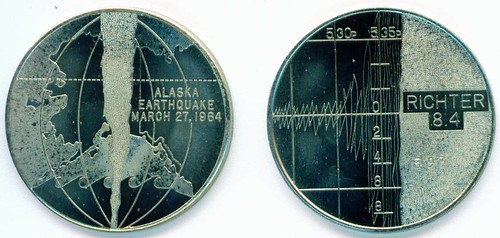 Alaska Earthquake Medal ak06b7