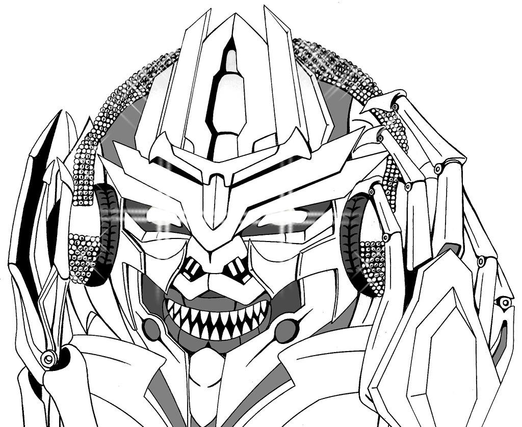 Megatron enjoy the music??????