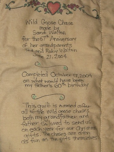 Wild Goose Chase label