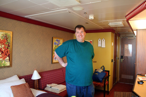 First Pic of the Room (Cabin 1101, Carnival Splendor)