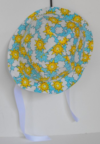 newborn reversible sunhat